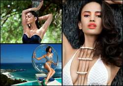 kingfisher reveals supermodels for 2014 calender photoshoot