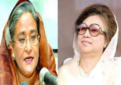bangladesh pm blasts zia for remaining silent on pakistan