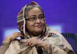 bangladesh pm blames mamata for teesta treaty failure