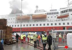 cruise liner with 262 aboard evacuated off norway