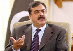 gilani downplays row with army after kayani s clarification