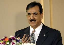 gilani rules out early polls says his govt will finish term