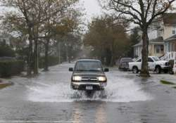 heavy turnout in sandy hit new jersey new york