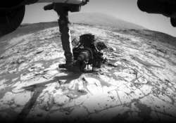 curiosity set to drill into crystal rich rock on mars