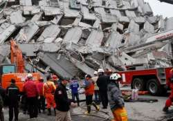 survivors pulled out from building 2 days after taiwan quake