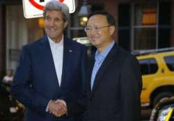 kerry holds talks with chinese diplomat in boston