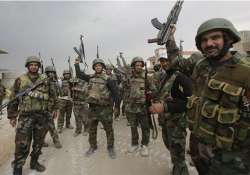 syrian army recaptures key gas fields in homs