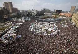 major protest sites of the world cairo s tahrir square part