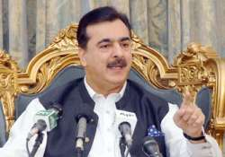 son s kidnappers do not want ransom former pakistan pm