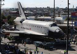 space shuttle to take two days to cover 12 mile journey