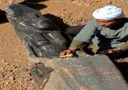 statues dating back 3 500 years discovered at egypt temple
