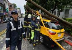 typhoon soulik kills three in china