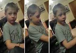 watch 5 year old boy stressed because he has too many