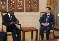 62 killed in syria on first day of annan visit