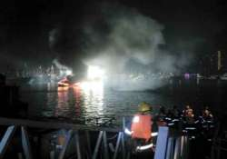 11 dead in bangladesh after boat catches fire capsizes