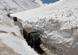 army dismantling bunkers in chumar in ladakh
