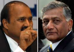 explanation sought from beml chief on notice to v k singh