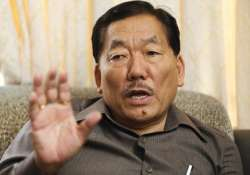india should have at least 50 small states sikkim cm