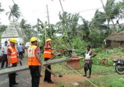 relief operations in full swing in cyclone hit andhra