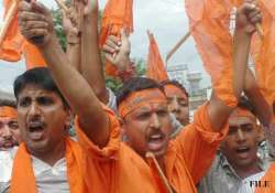 bajrang dal protests against love jihad term it as