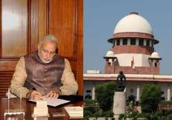 modi government asks sc not to interfere in executive