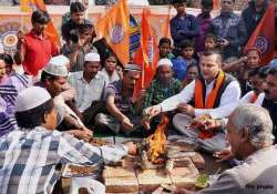 family claims conversion back to original faith in agra