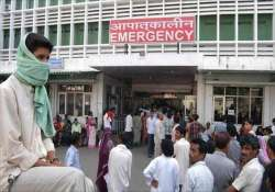 delhi hospital bed population ratio 50 percent below norms