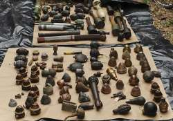 200 crude bombs hand grenades recovered from burdwan