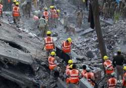 building collapse 60 people from same village staying