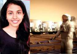 kerela girl shortlisted for one way mars trip