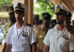 italian marines produced in court case posted to june 18
