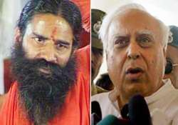 ramdev sibal spar over disclosure of letter of understanding