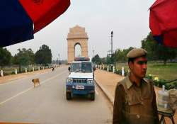 security stepped up in delhi