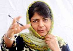 start talks with pakistan mehbooba mufti to centre