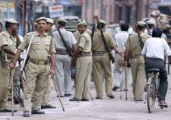 up cop transferred after minister booked in dacoity case
