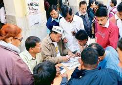 aap office gears up for counting day