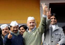 delhi polls 23 out of 67 aap mlas have criminal record says