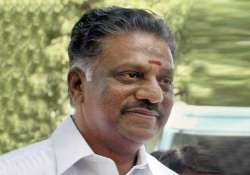panneerselvam shifts to cm seat in tn assembly