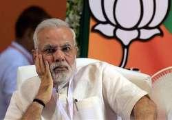 modi s popularity dented people want withdrawal of land bill