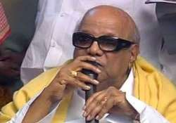 karunanidhi questions ec decision on poll dates