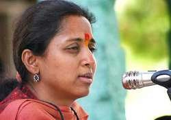 sharad pawar s daughter suprira sule is happy working as mp