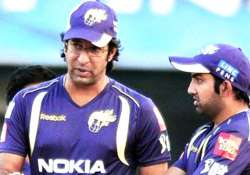 i would definitely have played gambhir as opener says wasim