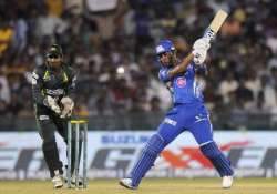 clt20 qualifier 4 mumbai indians vs southern express