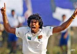 malinga ruled out of second test due to stiff knee