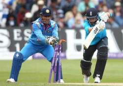 ind vs eng ms dhoni equals azharuddin s record of most odi