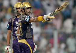 robin uthappa credits his focus for technique behind dream