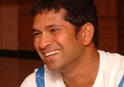 sachin tendulkar voted cricketer of the generation.