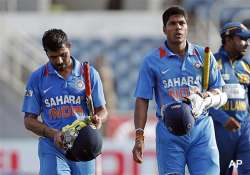 tri series struggling india need win against windies to