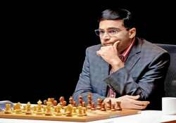 anand draws with vachier lagrave in shamkir chess tournament