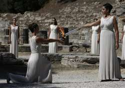 olympic flame for sochi games ready for relay
